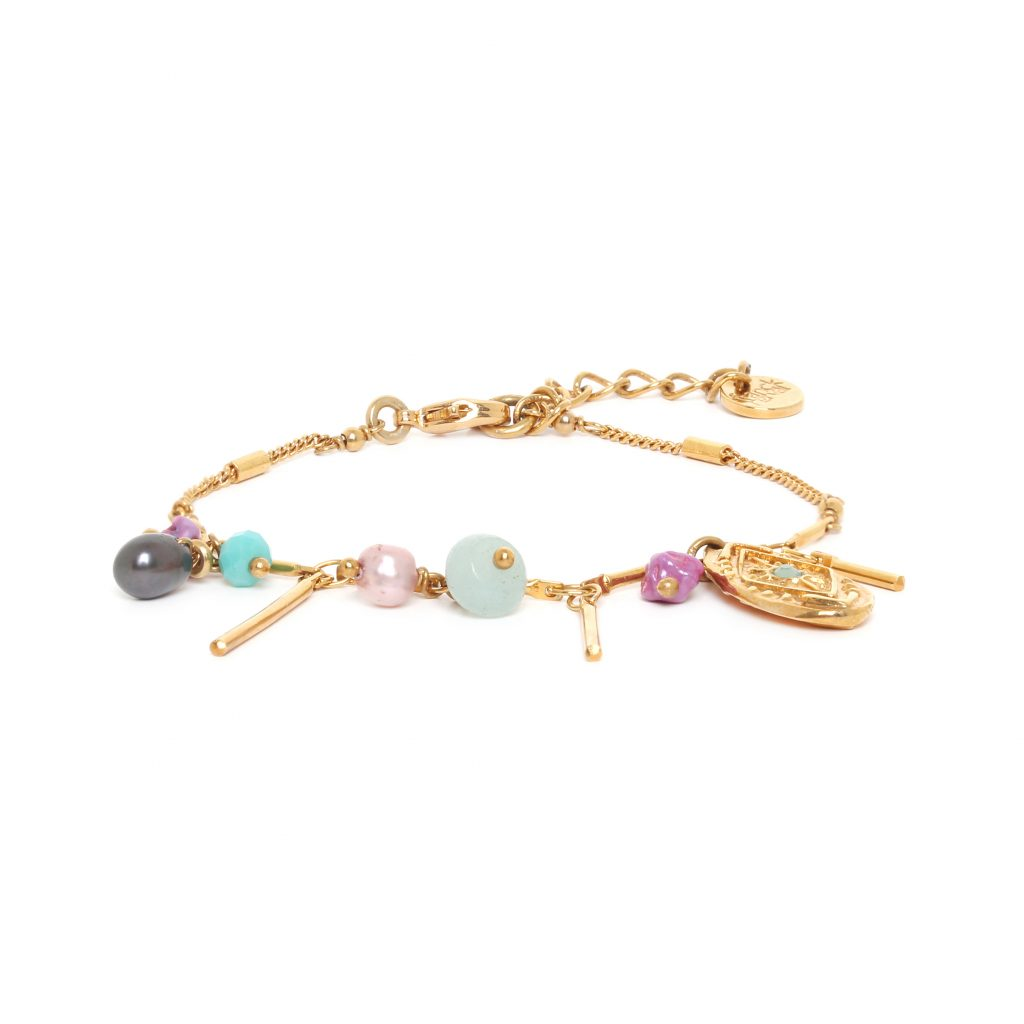 MARTA multi-dangle bracelet