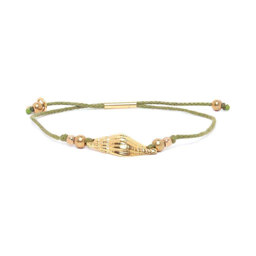 """TAMARA """"cone shape"""" tube lock bracelet"""