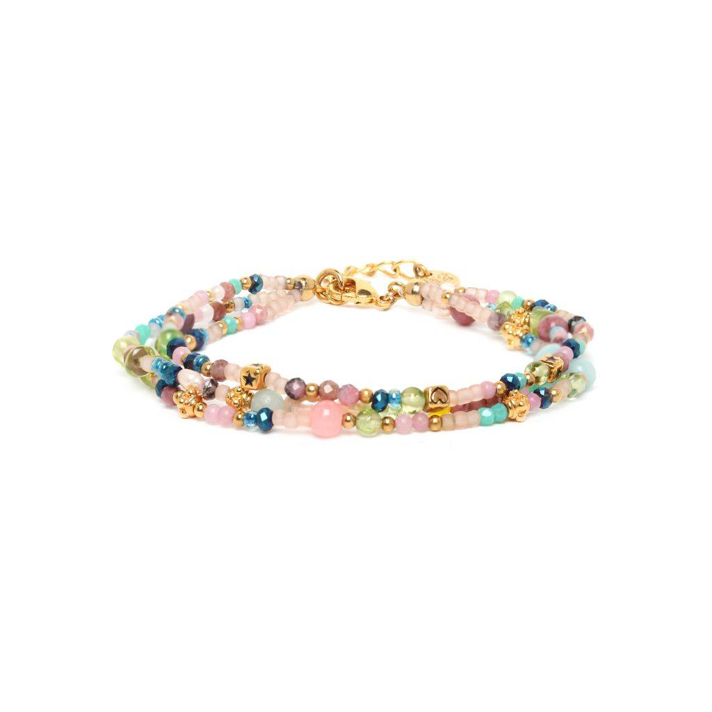 CAMILY 3 rows bracelet