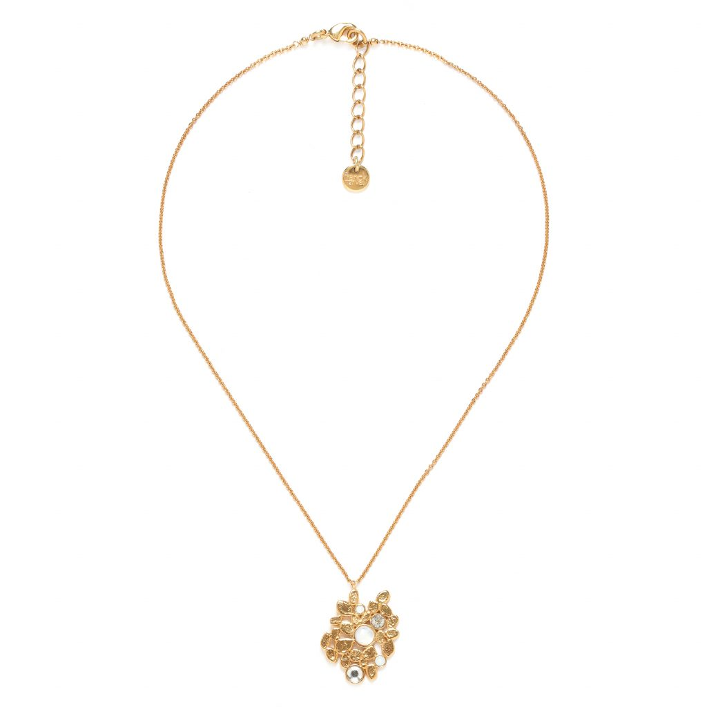 BECKY Y necklace (white)