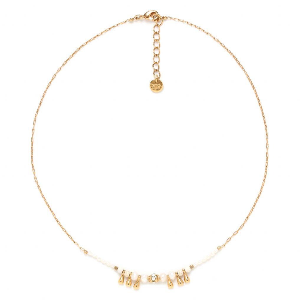 ABELHA little drop thin necklace